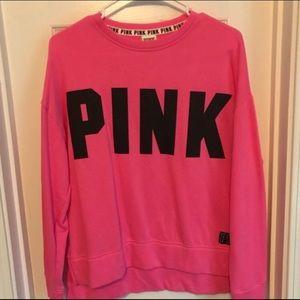 """PINK Victoria's Secret Sweaters - """"Pink"""" sweatshirt"""